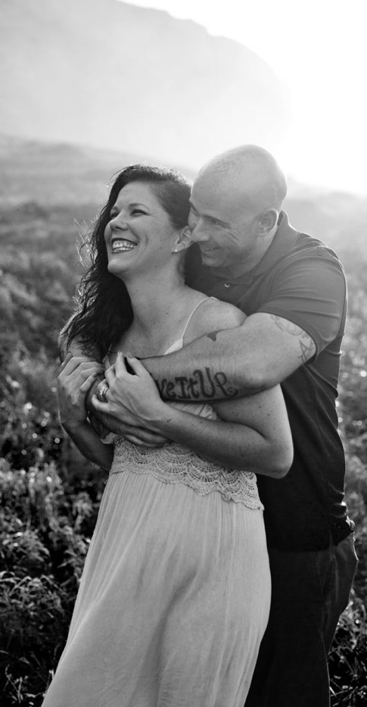 Brooke Flanagan and Husband
